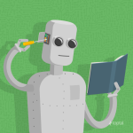 robot-is-reading